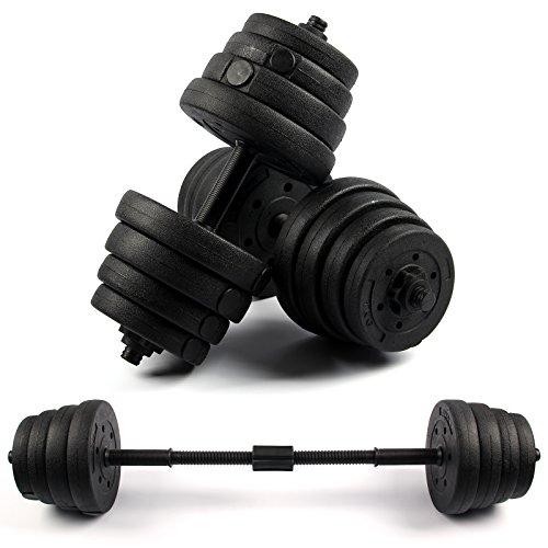 Mutiwill Dumbbell Set Adjustable Dumbbells Weight Set Gym Workout Fitness Biceps Exercise Home Training 30KG