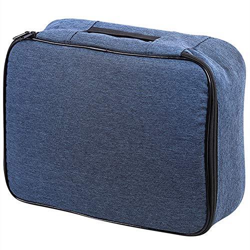 Huishoudelijke meerlagige documententas, draagbare paspoorttas voor reizen, multifunctionele bankrekening