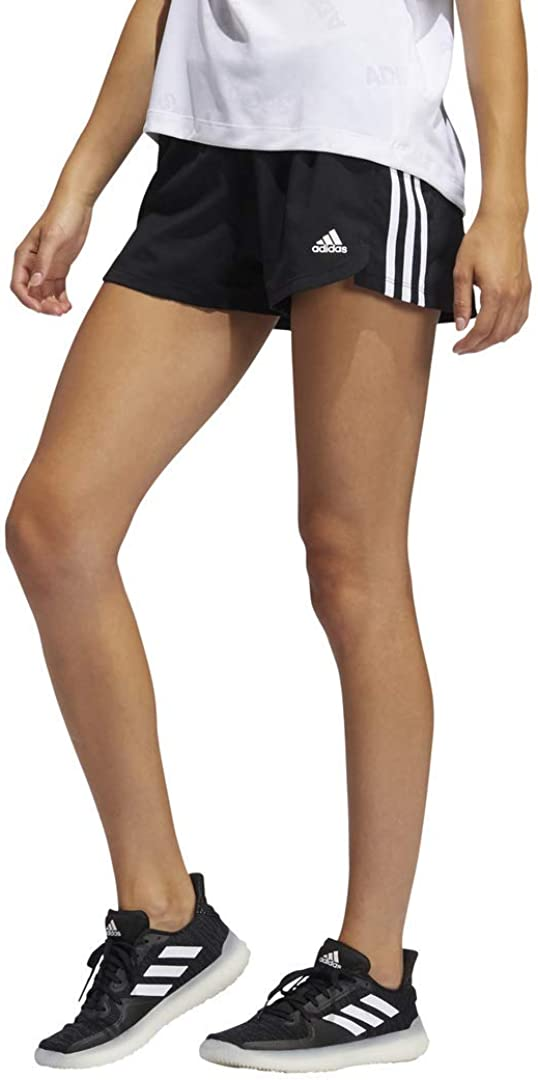 adidas Women's Pacer 3-Stripes Woven Shorts : Sports & Outdoors