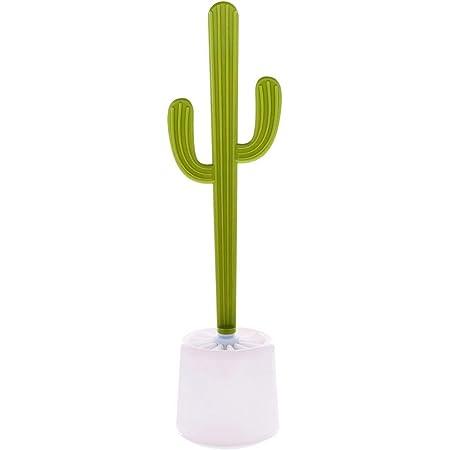 Dhink Escobilla para el Inodoro con Forma de Cactus. Cepillo Cactus para el Baño o W.C. 47cm de Alto