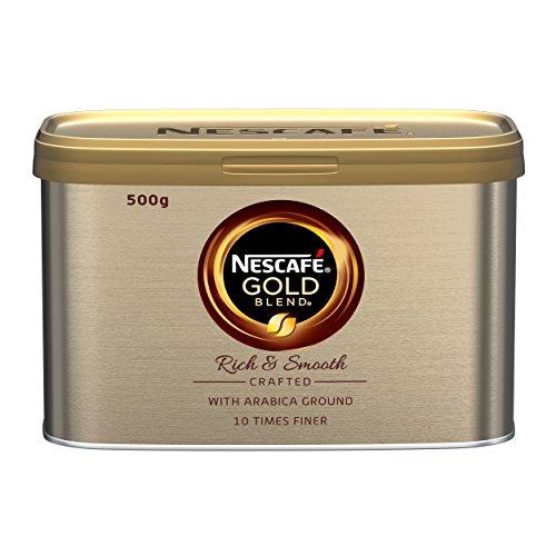 Nescafe Gold Blend Instant Coffee Tin 500g Ref 12284101