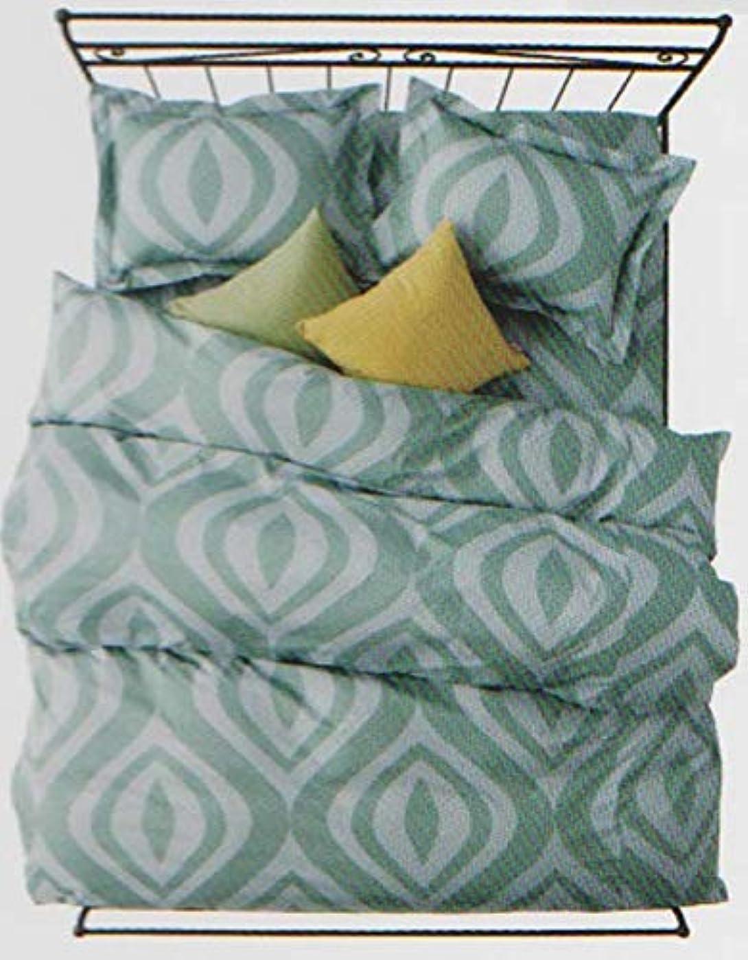 物質かかわらず読むシビラ ウアウ 掛け布団カバー シングル150×210cm ブルー