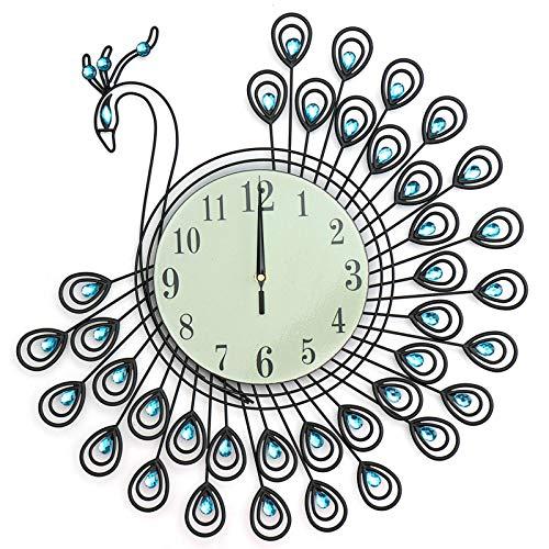 Belleashy - Reloj de pared para niños, diseño de flores