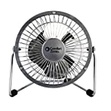 CCC COMFORT ZONE CZHV4S Electric-Household-Tabletop-Fans, Silver