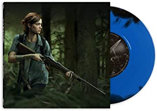 Music from The Last of Us Part 2 (7-Inch) Exclusive Blue Vinyl w/ Black Swirl