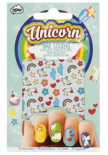 Unicornio–Clavo decorativo para de colores Pegatinas