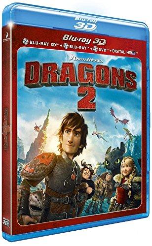Dragons 2 3D Blu-Ray+Dvd [Edizione: Francia]