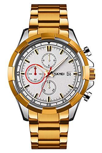 Reloj - SKMEI - Para Hombre - Lemaiskm9192 GOLD