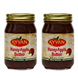 KYVAN Honey Apple Butter is made with premium, fresh sliced apples. It is slow cooked in small batches to retain flavor. Premium honey and special spices create a rich, robust flavor...just like Grandma's. It's perfect to warm you up on a cold mornin...
