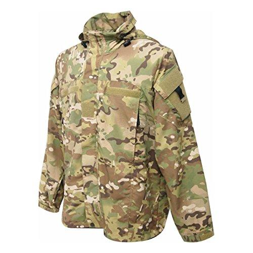 HIGHLANDER Commando Veste en Softshell pour Femme – Multi Terrain Motif Camouflage (Petit)