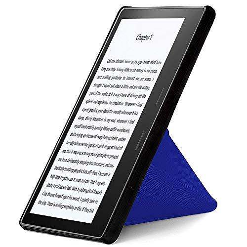 FC Etui de Protection pour Kindle Oasis 2017 Coque & Support Pliant - Blue Roi - Fin, Léger, Amazon Kindle Oasis 2017 Housse, Auto Veille/Réveil, Design Origami Étui, Cover + Stylet & Écran