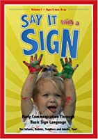 Say It With a Sign 1 [DVD]