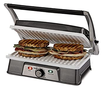 oster panini grill with removable plates