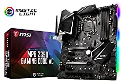 small MSI MPGZ390 Gaming Edge ACL GA1151 (Intel 8th and 9th Generation) M.2 USB 3.1 Gen 2 DDR4 HDMI DP Wi-Fi…