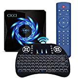 Android 10.0 TV Box, X96Q Max 4 GB RAM 64 GB ROM 2021 actualizada con mini teclado inalámbrico Allwinner H616 2,4 G/5,8 G Dual WiFi Bluetooth 5.0 4K 6K Media Player Android TV Box X96 Set-Top Box