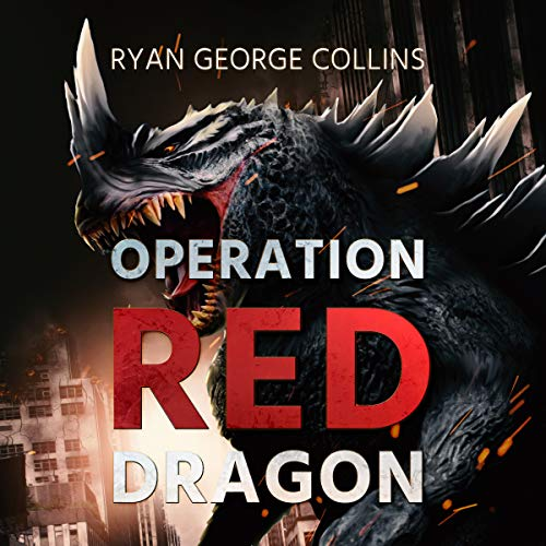 Operation Red Dragon audiobook cover art