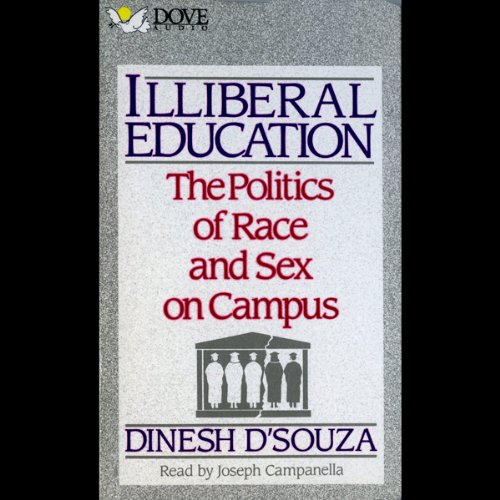 Illiberal Education audiobook cover art