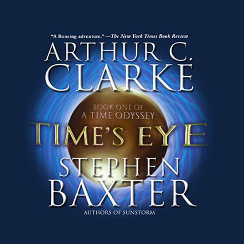 Time's Eye audiobook cover art