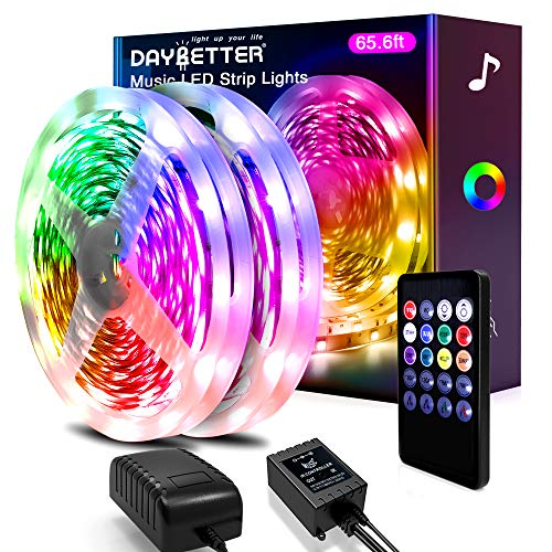 Daybetter Music Sync Led Strip Lights (2rd Gen) 65.6ft
