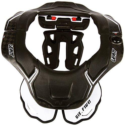 Leatt Le Brace DBX 6.5 est Un protège Cou de vélo Ultra-léger. Il est entièrement adapté à la Pratique du VTT. Colliers de Protection Mixte Adulte, Carbone/Blanc, S/M