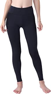 Okay Sports Women's Breathable Horse Riding Tights Knee Patch Grip Equestrian Pants Schooling Riding Breeches