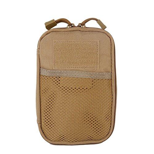 canlan Molle Tool - Bolsa de cintura para deportes al aire libre, caza, bolsa de almacenamiento para teléfono móvil
