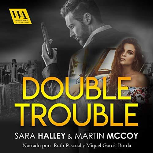 Diseño de la portada del título Double Trouble