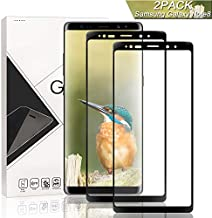 Jioue Galaxy Note 8 Screen Protector [2 Pack], Full Coverage Anti-Scratch Bubble-Free HD Screen Protector for Samsung Galaxy Note 8