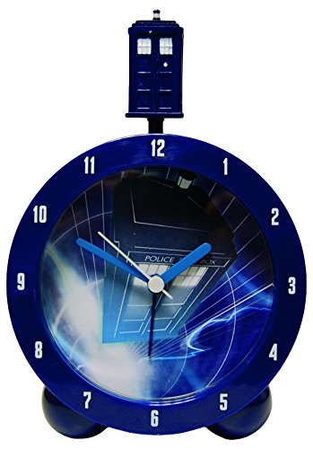 Zeon (Watches) Dr Who Tardis Nachttisch-Wecker