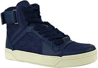 blue gucci high top sneakers
