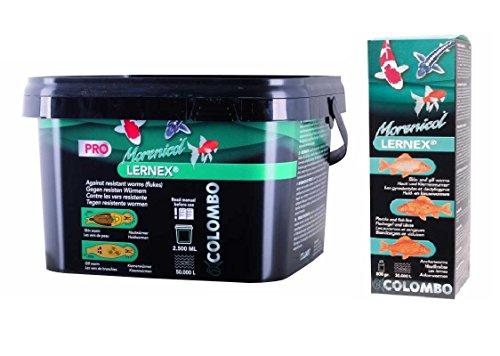 COLOMBO LERNEX® 800g gegen Hautwürmer (Gyrodaktylus), Kiemenwürmer (Dactylogyrus) und Fadenwürmer (Nematoden).
