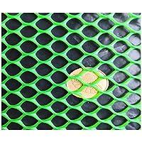 安全ネット 多目的な用途のネット 階段ネット 防護ネット 子供 転落防止網 耐久性に優れた耐候性防水調節可能な子供赤ちゃん幼児幼児キッドバルコニーや階段手すりフェンスメッシュ保護ネット(グリーン) 怪我防止 危険防止 簡単設置 丈夫 取り付けバンド付属 (Color : Green, Size : 1.2x6m)