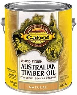 Cabot Australian Timber Oil Exterior Natural 1 Gl
