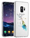 Galaxy S9 Cover Trasparente Clear Samsung Galaxy S9 S9 Plus Case Silicone Ultra Sottile Morbida Sottile TPU Slim Cactus Fox Custodia Antiurto No-Slip Anti-Graffio (Piccolo Principe, Galaxy S9 Plus)