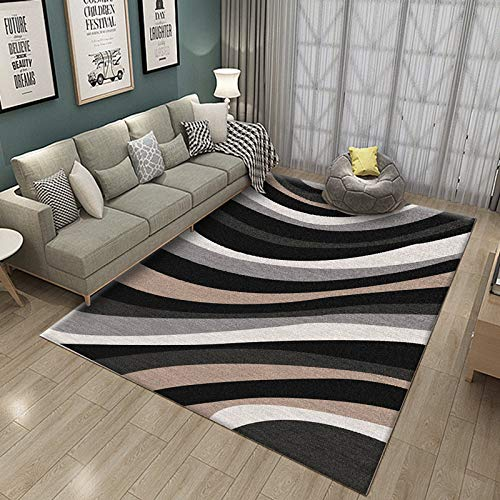 Living Room Rug Sofa Room Bedside Household Can Machine Wash Minimalist Modern Retro Rectangular 160X230CM