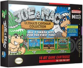 Retro-Bit Joe & Mac: Ultimate Caveman Collection SNES Cartridge - 3 Games in 1 - Super NES