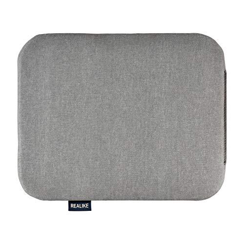 REALIKE Hitzepress Schutzmatte für Easy Press Hitzepressmaschinen & HTV Press Matte zum Aufbügeln Heat Press Mat Transfer der Bügelisolierung 8X10(20.5 * 25.4CM) Grau
