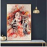 Sanwooden Mariah Carey Kunstdruck Leinwand Poster