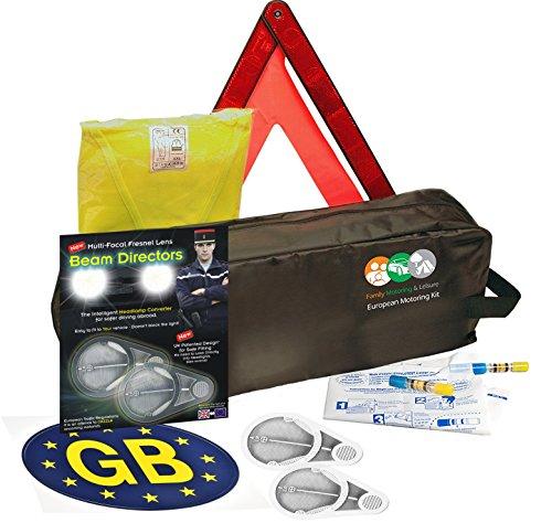 Euro européenne Kit de voyage Livret Français à l'étranger pour européenne de voyage lentille Fresnel