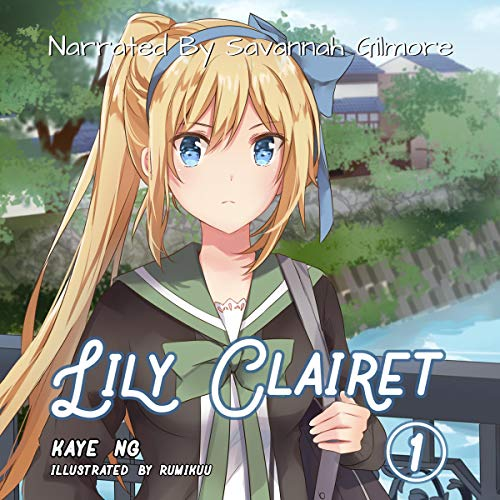 『Lily Clairet, Book 1 (Light Novel)』のカバーアート