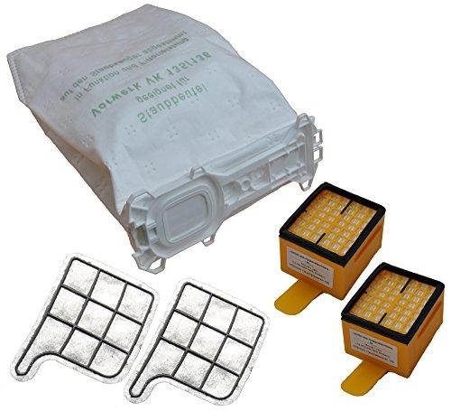 SPAR SET 18 Staubsaugerbeutel VLIES!! + 2 Hygienefeinfilter + 2 Motorschutzfilter geeignet für Ihren Vorwerk Kobold 135/136 / 135SC / VK 135 / VK 136