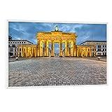 artboxONE Poster mit weißem Rahmen 60x40 cm Städte/Berlin