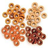 We R Memory - Occhielli per Scrapbooking, Standard, Colore Arancione
