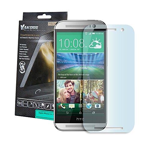 VAKOSS PTV 8101-T HTC One E8 Hartglass 9H, Panzerglas, Bildschirmschutzglas, Tempered Glass