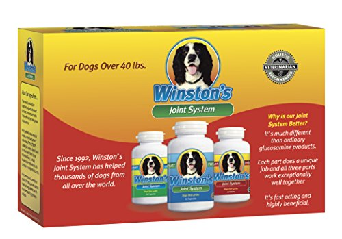 Winston's Joint System - for Medium Dogs from 40-99 Pounds - 100%...