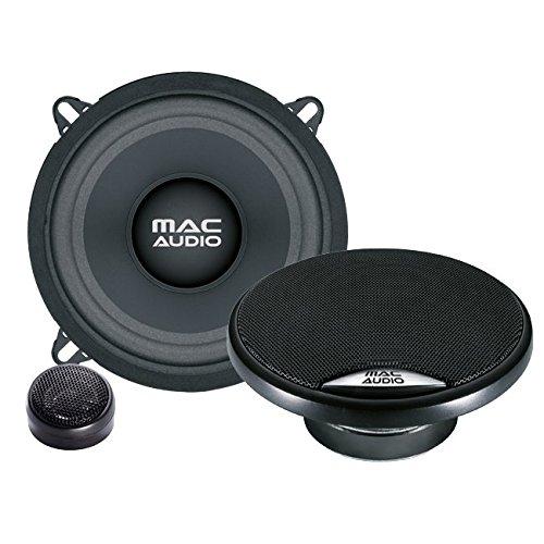 Mac Audio 11035731 - Altavoces (5'', Potencia máxima de 220 W, RMS de 55 W) Color Negro