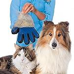LALANG Right Hand Gant Magic Brosse de Nettoyage pour Animaux de Compagnie, Bleu #2