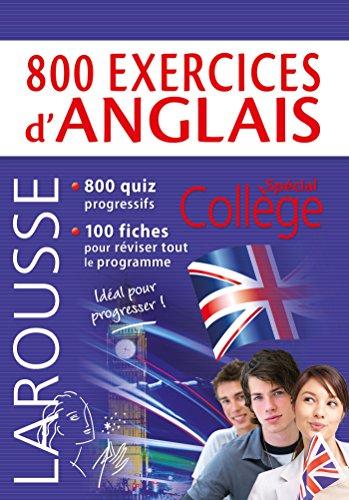 800 exercices d'anglais