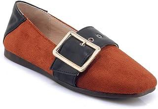 BalaMasa Womens APL11858 Imitated Suede Heels