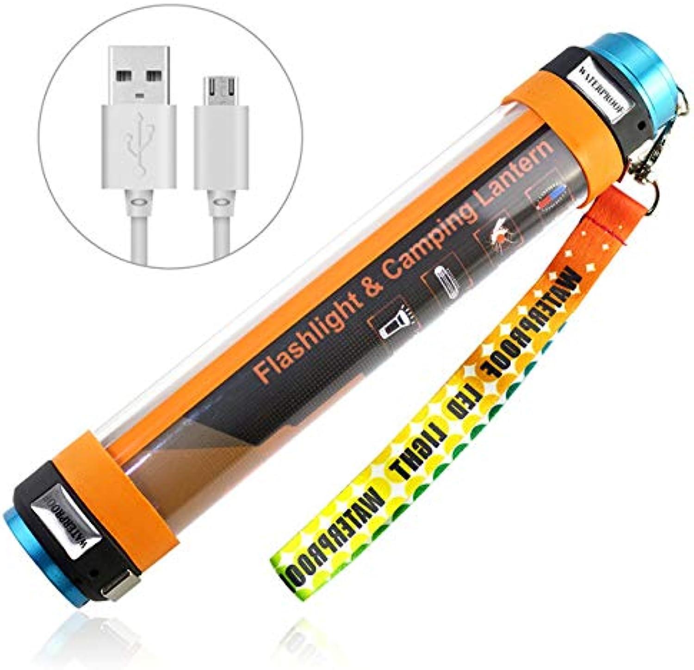 MFHSB Zelt-Licht, kampierende Laterne USB-LED Wieder aufladbares magnetisches Starkes geführtes Taschenlampen-Arbeitslicht-wasserdichtes Zelt-Licht für im Freienbeleuchtung